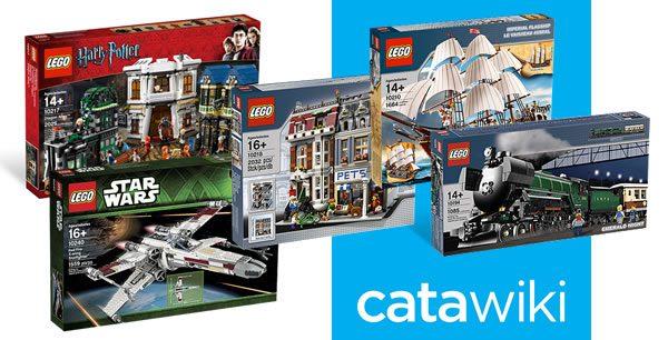 Chez Catawiki : grosse vente aux enchères de produits LEGO collectors