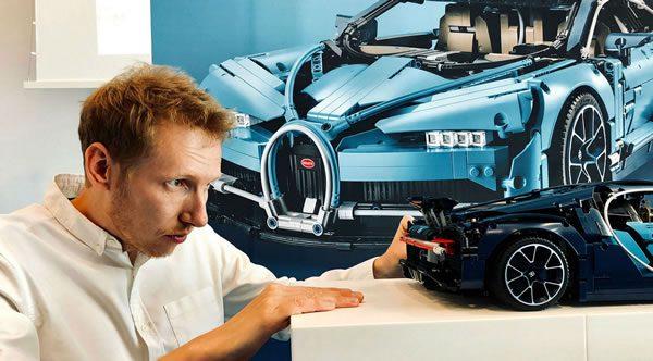 Concours : Un set LEGO Technic 42083 Bugatti Chiron dédicacé à gagner !