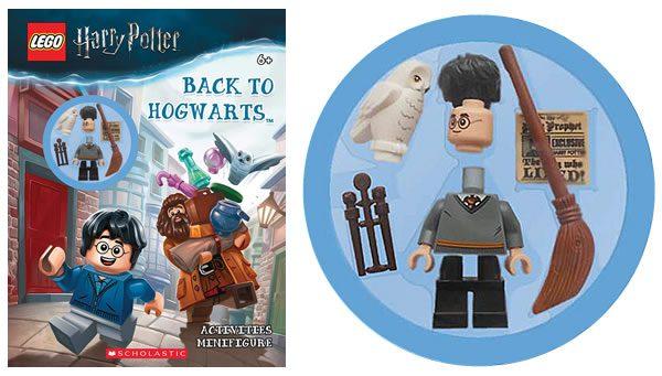 LEGO Harry Potter Back to Hogwarts : nouveau livre d'activités avec minifig