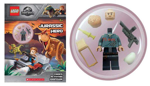 LEGO Jurassic World Hero : nouveau livre d'activités avec minifig