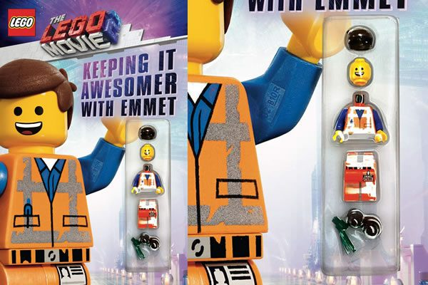 """Le premier produit dérivé du film The LEGO Movie 2 avec minifig """"exclusive"""" est dévoilé"""