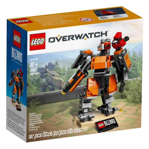 May The 4th Be With You Lego 2018: 75987 Omnic Bastion : Le Premier Set LEGO Overwatch