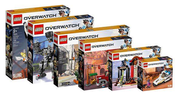 LEGO Overwatch : les visuels officiels sont disponibles