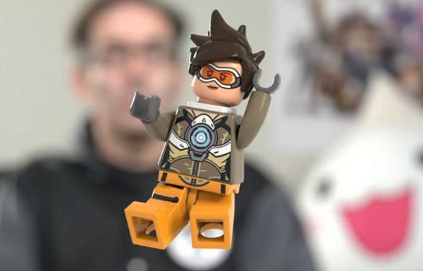 LEGO Overwatch : Tracer minifigure