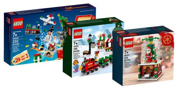 LEGO Seasonal sets : quelques anciennes références sont de retour