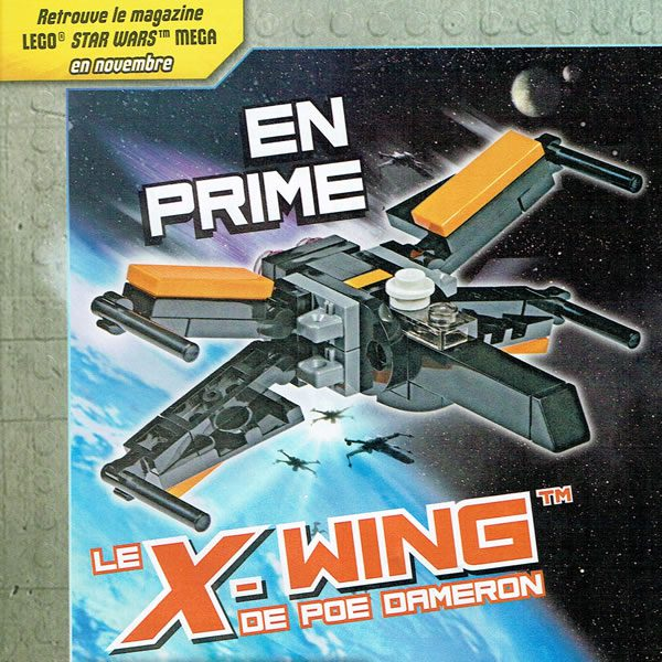 LEGO Star Wars Magazine - Poe Dameron's X-Wing Starfighter