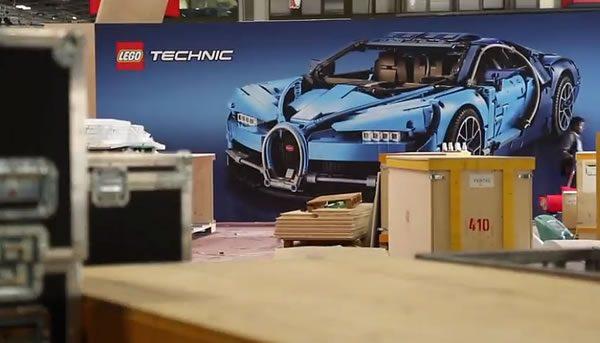 Paris Motor Show 2018 : Un petit tour sur le stand LEGO