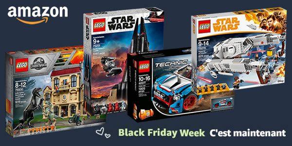 Black Friday Week chez Amazon : -20% sur quelques sets LEGO