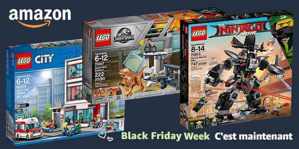 Black Friday Week chez Amazon : il y a aussi des produits LEGO
