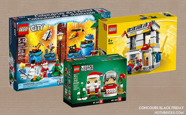 Concours LEGO Black Friday 2018