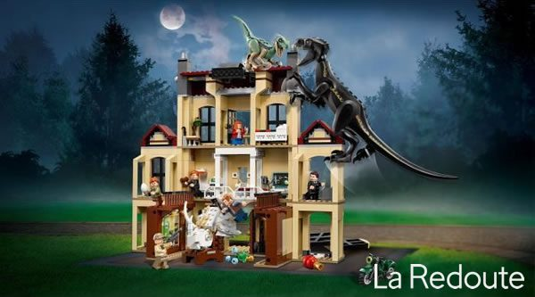 Concours : Un set LEGO 75930 Indoraptor Rampage at Lockwood Estate à gagner avec La Redoute !