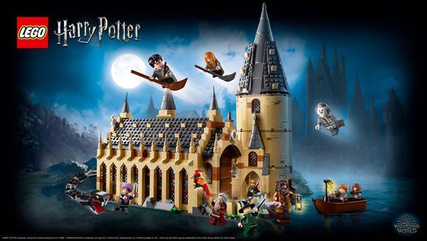 Concours : Un set LEGO Harry Potter 75954 Hogwarts Great Hall à gagner