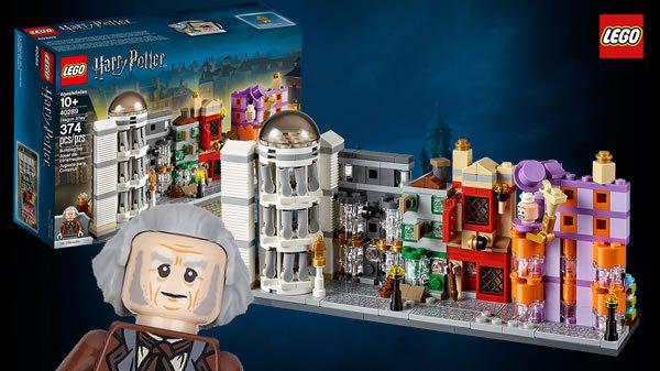Sur le Shop LEGO : Le set LEGO Harry Potter 40289 Diagon Alley offert dès 80 € d'achat