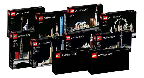Nouveautés LEGO Architecture 2019 : Plus d'infos sur les skylines 21043 San Francisco et 21044 Paris