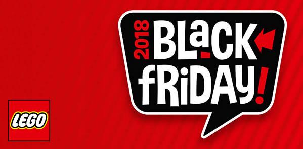 Black Friday et Cyber Monday 2018 chez LEGO : Le détail des offres prévues