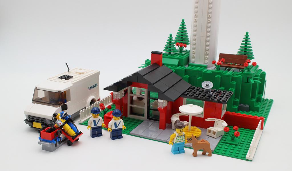 ▷ Vite testé : LEGO Creator Expert 10268 Vestas Wind Turbine - Hoth