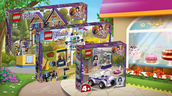 Nouveautés Lego Friends 2019 Les Visuels Officiels Sont