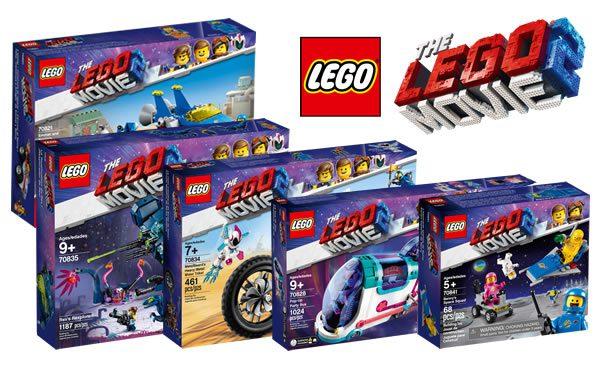 The LEGO Movie 2 : LEGO dévoile l'ensemble des sets prévus pour janvier 2019
