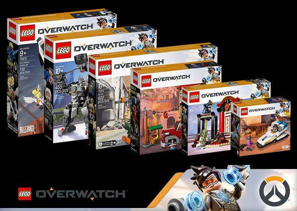 Sur le Shop LEGO : les nouveautés LEGO Overwatch sont en ligne