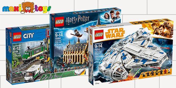 Chez Maxi Toys : -50% sur le 2ème produit LEGO
