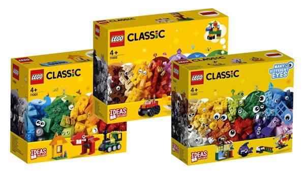 Nouveautés LEGO Classic 2019 : les visuels officiels