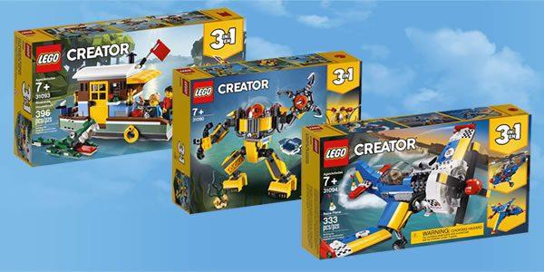 Nouveautés LEGO Creator 2019 : tous les visuels officiels