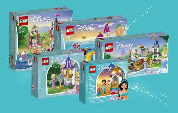 Nouveautés LEGO Disney Princess 2019 : premiers visuels officiels