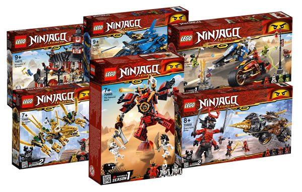 Nouveautés LEGO Ninjago 2019 : premiers visuels officiels disponibles