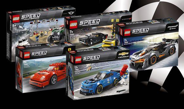 Nouveautés LEGO Speed Champions 2019 : premiers visuels officiels disponibles