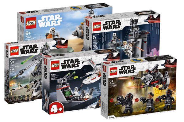 Nouveautés LEGO Star Wars 2019 : premiers visuels officiels disponibles