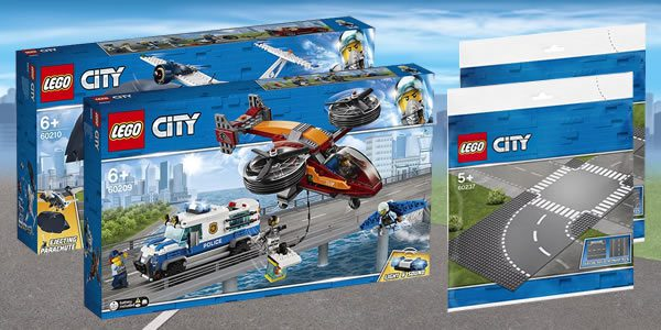 Nouveautés LEGO CITY 2019 : encore une louche de visuels officiels