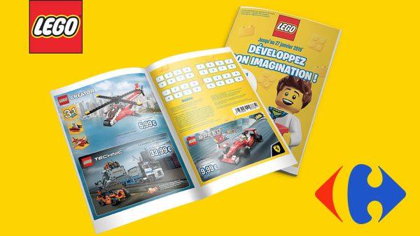 Chez Carrefour : jusqu'à -40% sur une sélection de sets LEGO