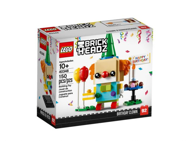 40348 lego brickheadz birthday clown 1