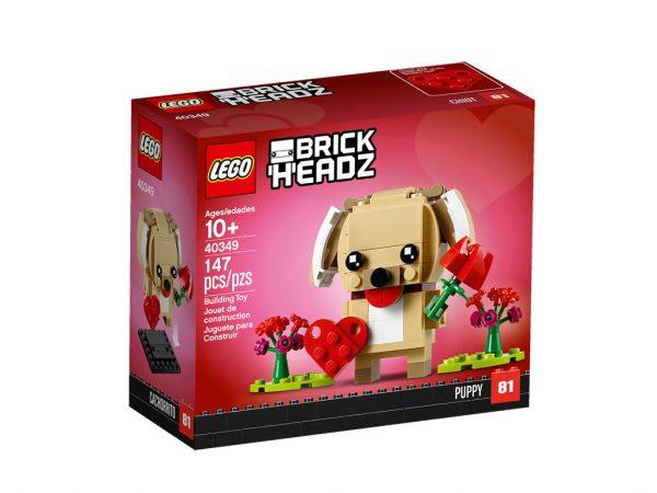 40349 lego brickheadz 2019 puppy 1