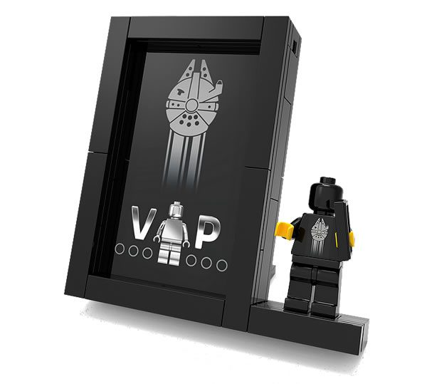 5005747 LEGO Black VIP Card Frame Exclusive Unique Final Promotion