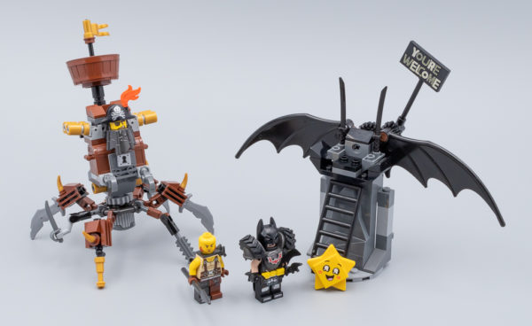 70836 Battle-Ready Batman and MetalBeard