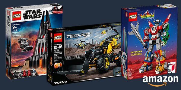 Chez Amazon : 20% de réduction sur une sélection de sets LEGO