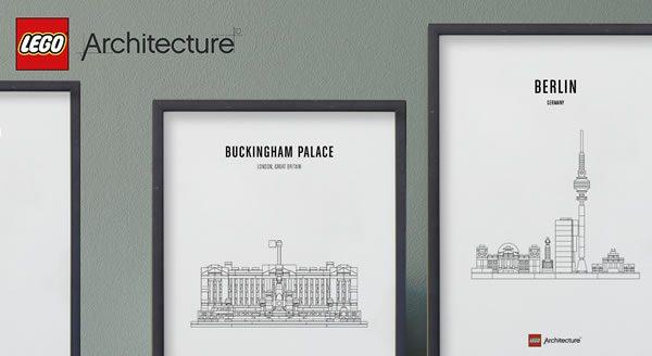 Calendrier de l'Avent #4 : Un lot de sets LEGO Architecture à gagner