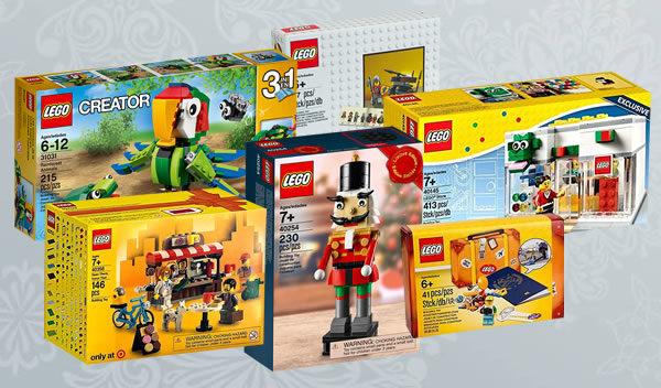 Calendrier de l'Avent #Bonus : Un lot de sets LEGO offerts par les lecteurs du blog à gagner