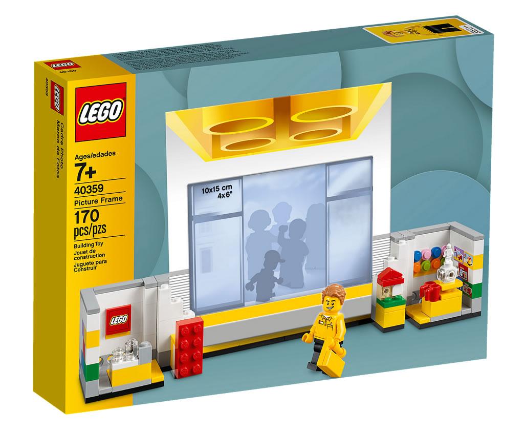 nouveaut lego 2019 40359 picture frame hoth bricks. Black Bedroom Furniture Sets. Home Design Ideas