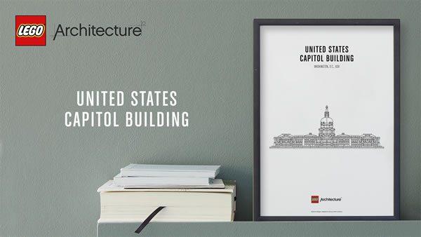 Calendrier de l'Avent #7 : Un set 21030 United States Capitol Building à gagner