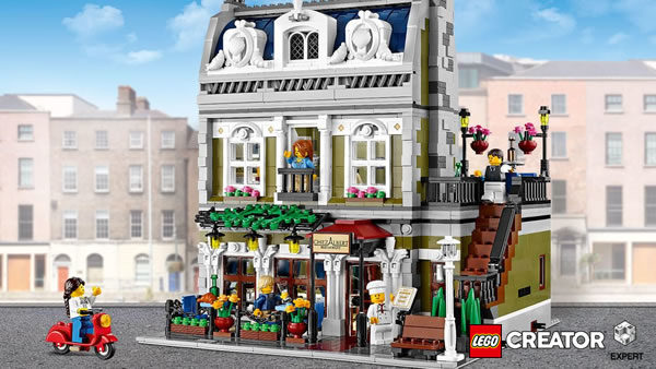Concours : un set LEGO Creator Expert 10243 Parisian Restaurant à gagner !