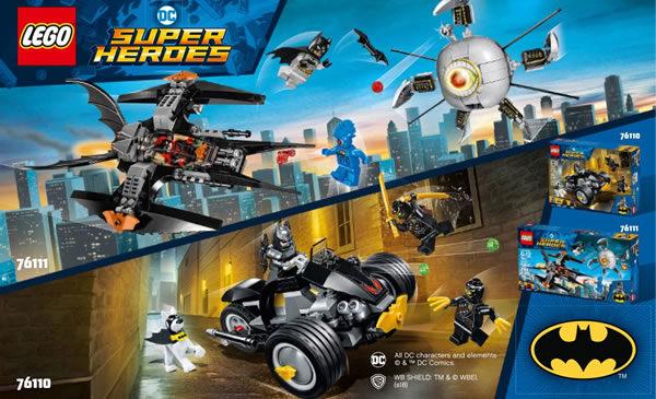 Calendrier Concours Ring 2021 ▷ Calendrier de l'Avent #10 : un lot de sets LEGO DC Comics à