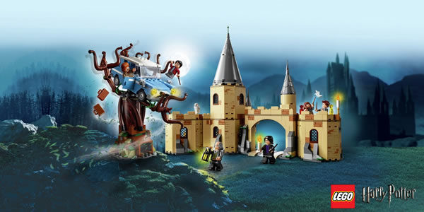 Calendrier de l'Avent #14 : Un lot de sets LEGO Harry Potter à gagner
