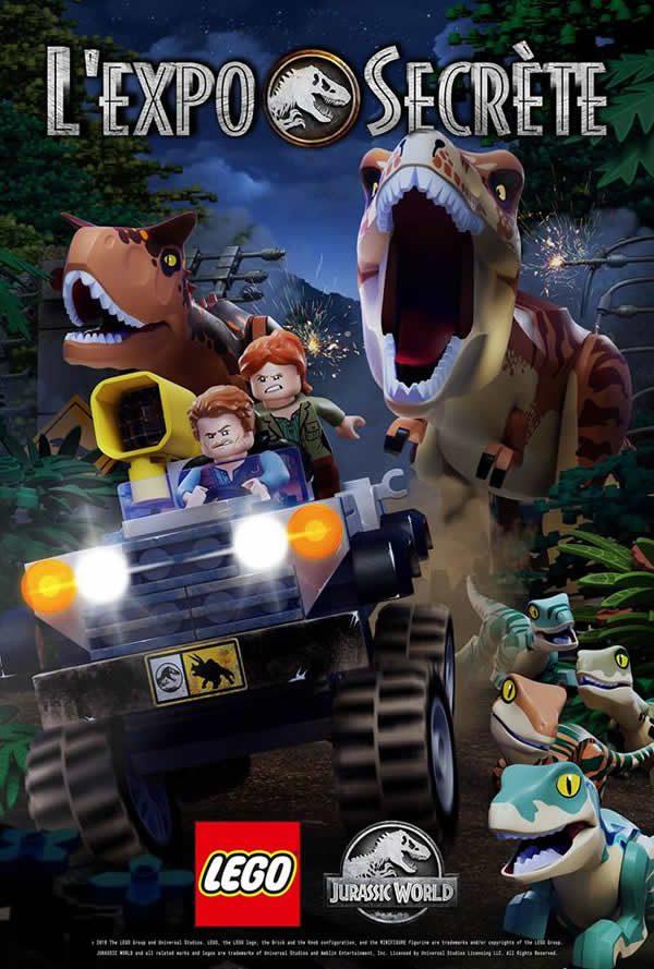 LEGO Jurassic World : L'Expo Secrète - Diffusion le 23 décembre 2018 sur Gulli