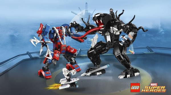 Calendrier de l'Avent #12 : Un lot de sets LEGO Marvel Spider-Man à gagner