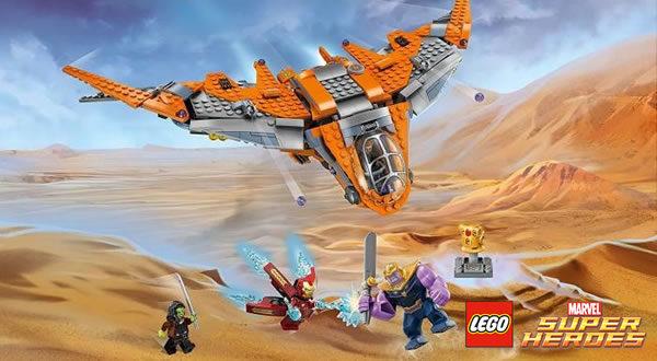 Calendrier de l'Avent #9 : Un lot de sets LEGO Marvel Avengers à gagner