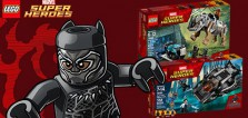 Calendrier de l'Avent #3 : Un lot de sets LEGO Marvel Black Panther à gagner
