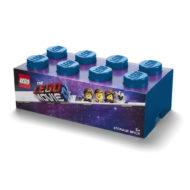40041762 LEGO Movie 2 Brick 8 Knobs Stackable Storage Box