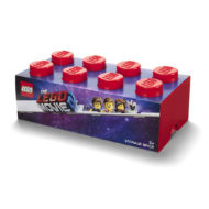 40041761 LEGO Movie 2 Brick 8 Knobs Stackable Storage Box